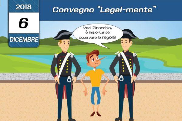 Convegno sulla legalità 6 Dicembre 2018 a Pescolanciano - associazione Pianeta Giovani Isernia