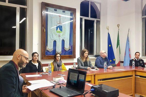 Convegno legalmente 6 Dicembre 2018 a Pescolanciano - associazione Pianeta Giovani Isernia