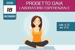 Formazione Progetto Gaia la consapevolezza dell'integrita psicosomatica 18 Dicembre 2018 associazione Pianeta Giovani Isernia