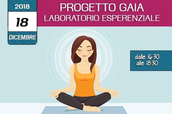 Formazione Progetto Gaia - la consapevolezza dell'integrita psicosomatica 18 Dicembre 2018- associazione Pianeta Giovani Isernia