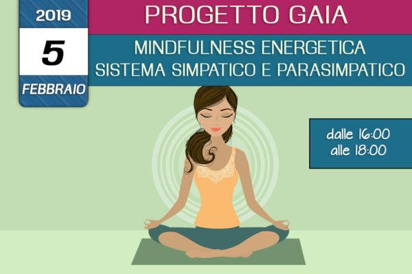 Formazione Progetto Gaia –  Teoria dei sistemi simpatico e parasimpatico – Mindfulness enegetica