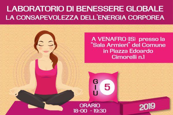 Laboratorio di Benessere Globale – La consapevolezza dell'energia corporea