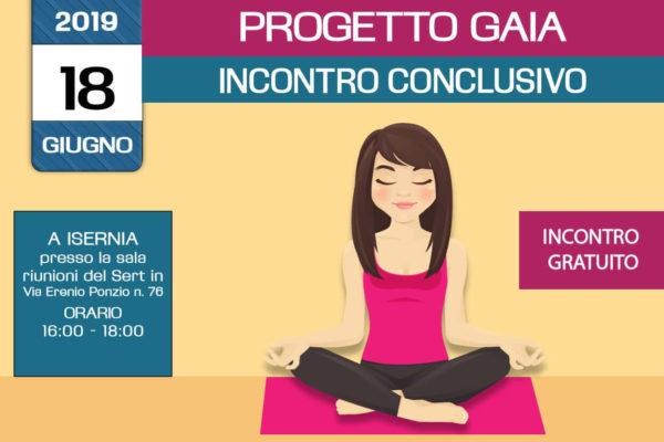 Incontro conclusivo del percorso formativo del Progetto Gaia – incontro gratuito -18 giugno 2019 a Isernia – organizzato dall'associazione Pianeta Giovani