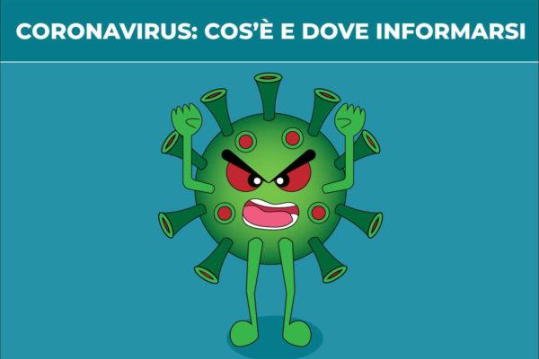 """Cos'è il """"Coronavirus - COVID-19 e dove informarsi - Blog della prevenzione - associazione Pianeta Giovani"""