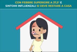 Fase 2: con febbre superiore ai 37,5° e sintomi influenzali si deve restare a casa - Blog della prevenzione - Associazione Pianeta Giovani