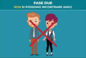 fase 2: non si possono incontrare amici- Blog della prevenzione - Associazione Pianeta Giovani