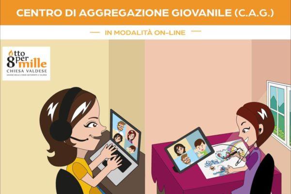 Attività on-line del Centro di aggegazione giovanile Totila di Pescolanciano - Progetto Cantiere Totila - associazione Pianeta Giovani