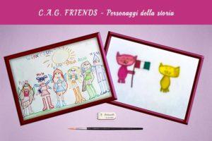 C.A.G. FRIENDS - Personaggi della storia