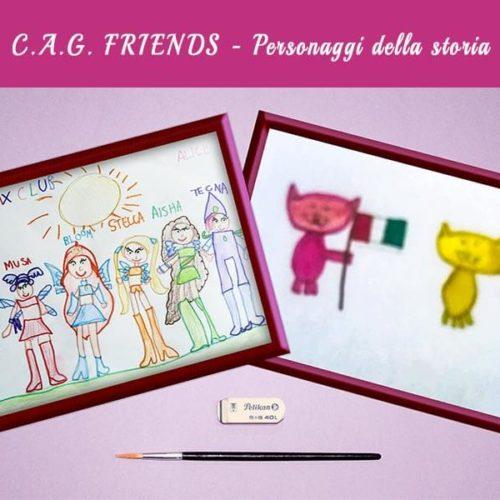 Personaggi della storia C.A.G. FRIENDS