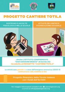 Locandina Progetto Cantiere Totila I. C. San Giovanni Bosco di Isernia