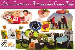 Libera creatività - Collage - Attività online Centro Totila - Progetto Cantiere Totila - Associazione Pianeta Giovani