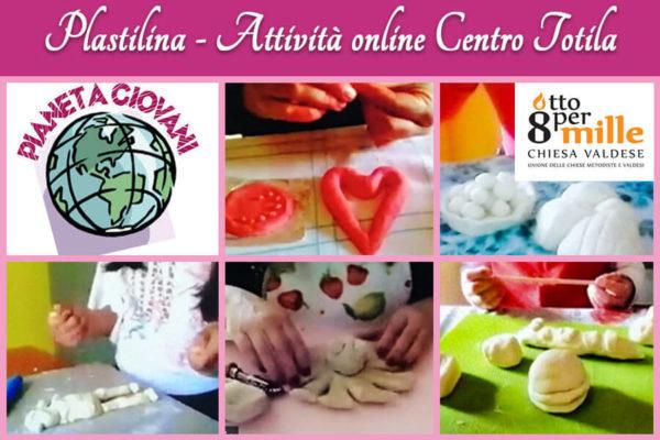 Plastilina fatta in casa - Attivita online Centro Totila - Progetto Cantiere Totila - Associazione Pianeta Giovani