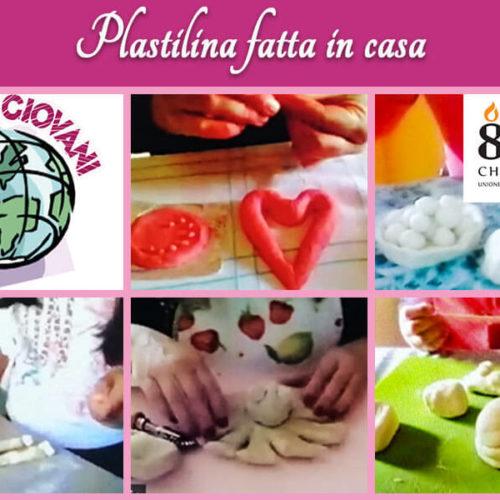 Plastilina fatta in casa – Attività online Centro Totila