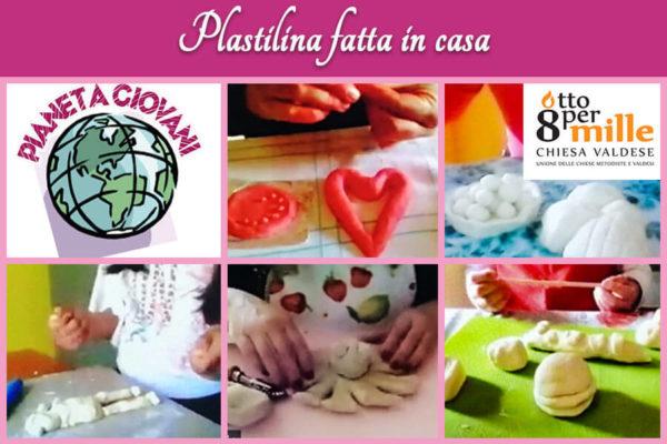 A tutta manualità con la plastilina fatta in casa – Attività online Centro Totila