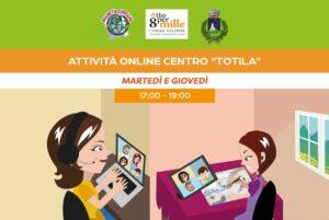 Attivita online centro di aggregazione giovanile (C.A.G.) Totila di Pescolanciano (IS) - Associazione Pianeta Giovani
